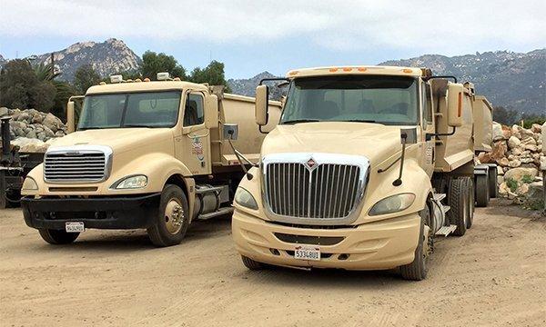 64' Southwest Boulder & Stone branded truck